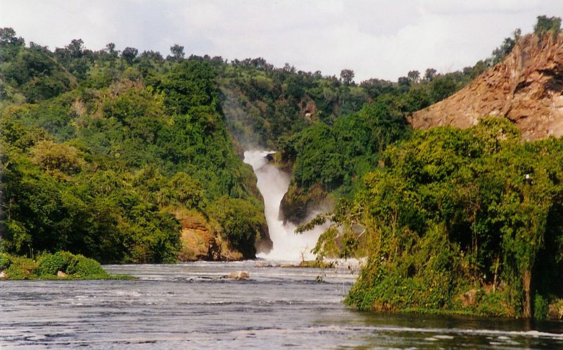 View of the Murchison Falls