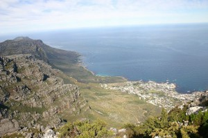 Zip Lines Over Table Mountain