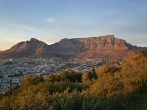 South Africa Safari Vacation Table Mountain