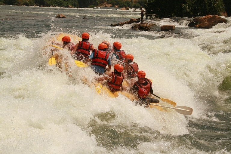 White River Rafting on the Nile River