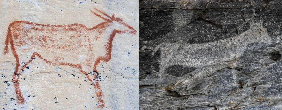 Rock Paintings from Tsodilo Hills