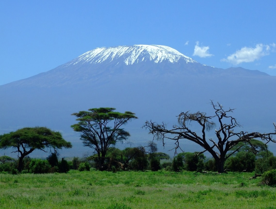 Climbing the Kilimanjaro for Charity View of Mt Kilimanjaro