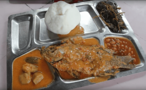 Coconut Fish with Ugali