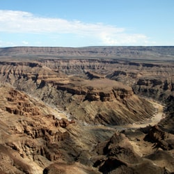 Awesome Bucket List Ideas View of Fish River Canyon