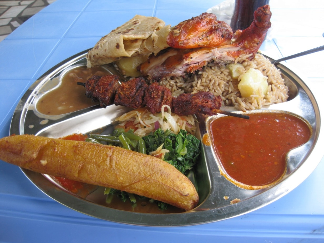 Traditional Foods of Tanzania typical meal
