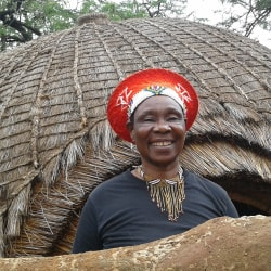 Zulu People of Africa A Woman Smiling