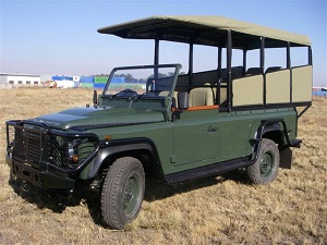 Open Vehicle for Game Drives