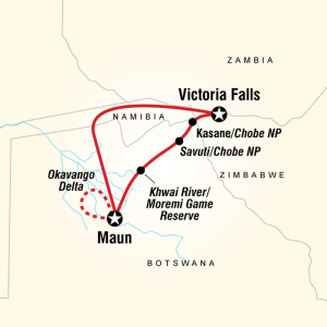 Botswana Safari Itinerary