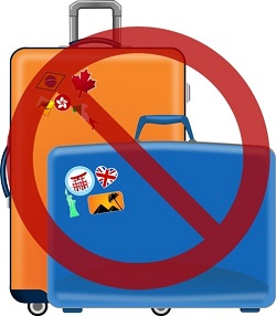Suitcases Forbidden