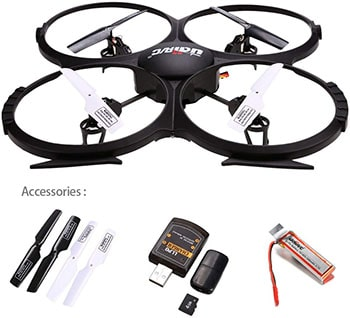 UDI 818A Drone and Accessories