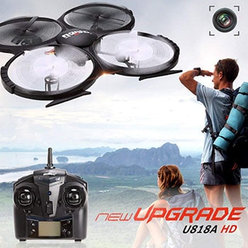UDI 818A HD Drone Review Drone Flying